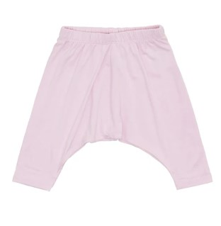 The best bamboo baby clothes-Petit Bamboo pink harem pants