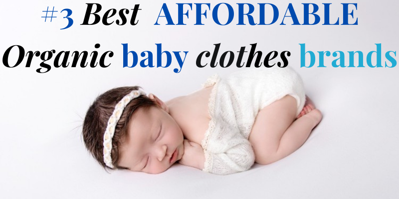 Best organic cotton baby clothes brands on a budget-Baby laying on belly wearing a pretty white outfit with matching white headband.