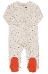 Best organic cotton baby clothes in the U.S.-Finn + Emma Tutti Frutti Footie