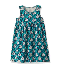 Organic baby clothes made in the U.S-Organic Cotton kids dress from Winter water factory kids.