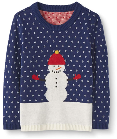 What is Moon and Back from Hanna Andersson? Moon and back by Hanna Andersson Holiday sweater.