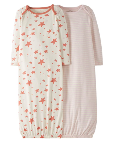 What is Moon and Back by Hanna Andersson?-2 pack nigh gowns 100% organic cotton.