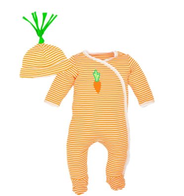 Do biodynamic baby clothes exist?-Organic baby clothes from the Vegi collection of Under the Nile made from Biodynamic cotton.