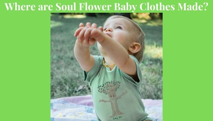 Where are Soul flower baby clothes made?- Toddler wearing Soul Flower organic Boho style outfit.